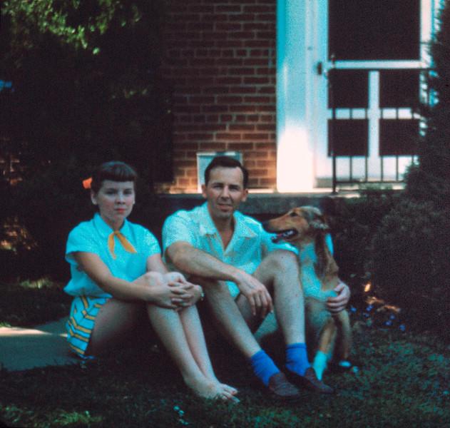 Judy & Her Much Beloved Dad.