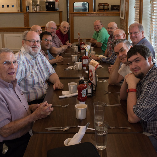 Alan, Steve, Nadeem, Rudy, John I, Tim, John II, Bill, Scott, Grover, Clark, Sean. Missing William, Bob