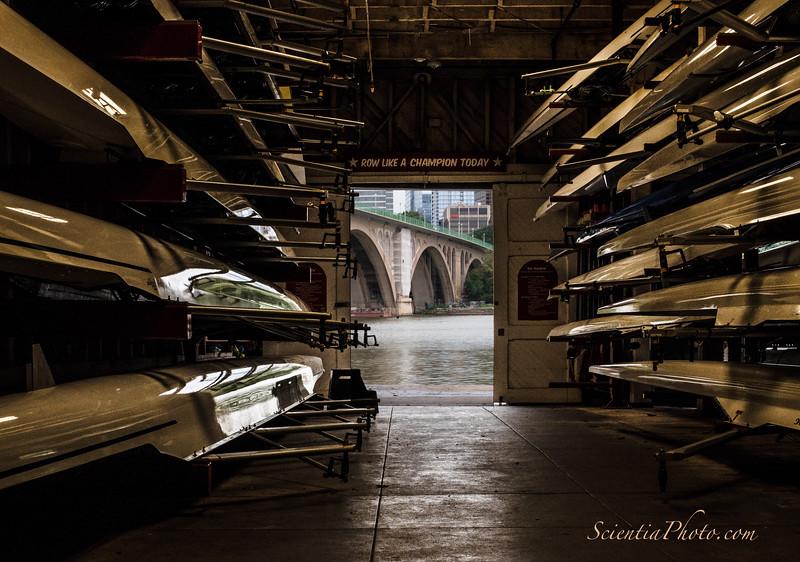 Key Bridge from the Potomac Boat Club