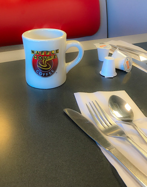 A Waffle House has its own special ambiance.