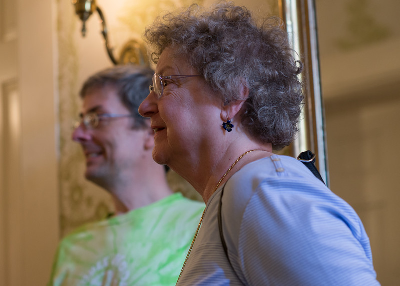 Andy & Nancy at Mary Todd Lincoln's House