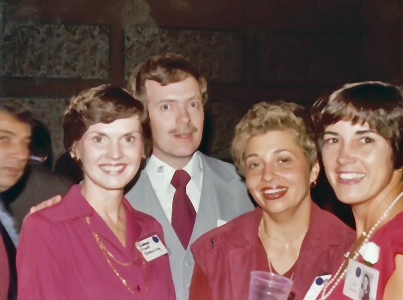 1979 Robbye Cook, Hal Dunning, Margie Sunda, Gay Callaway