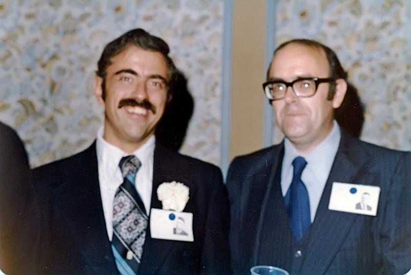 1979 20th Reunion Bob Cozzens & Bob Newman