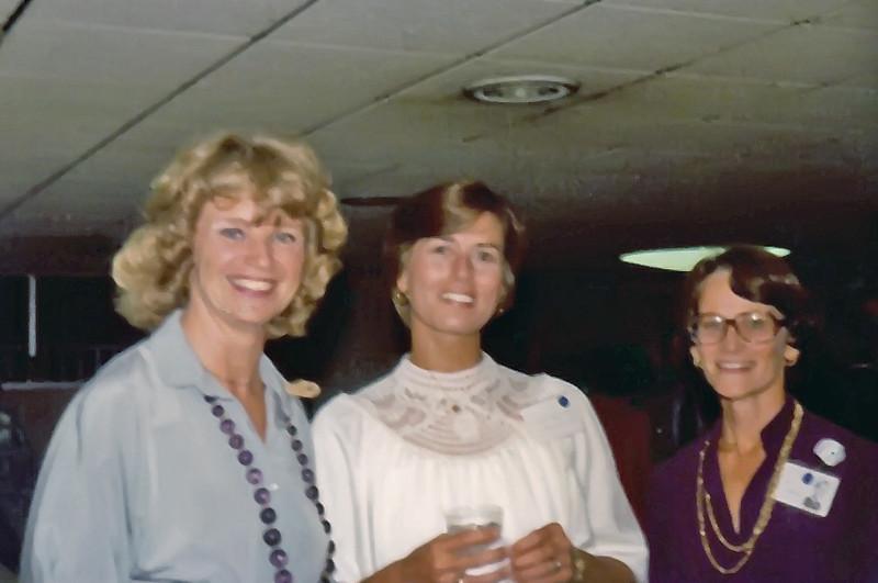 1979 Penny Gates, Ann Tomlinson, Kay Thompson