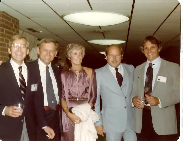1979 Bill Yelverton, Lee Havener, Dottie Guy ('60), Kenny Hunt, Bob Meador