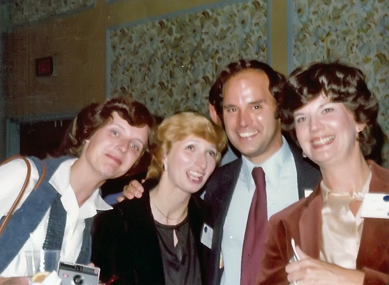 1979 Jane Striker, Dick Franklin's wife, Dick Franklin, Nancy Glover