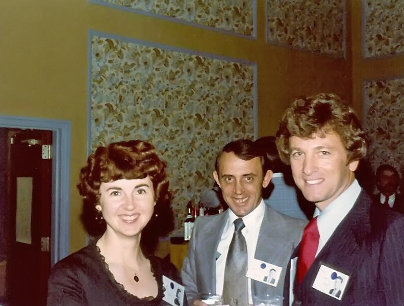 1979 20th Reunion Ann Morgan, Henry Colavita, Ron Winston