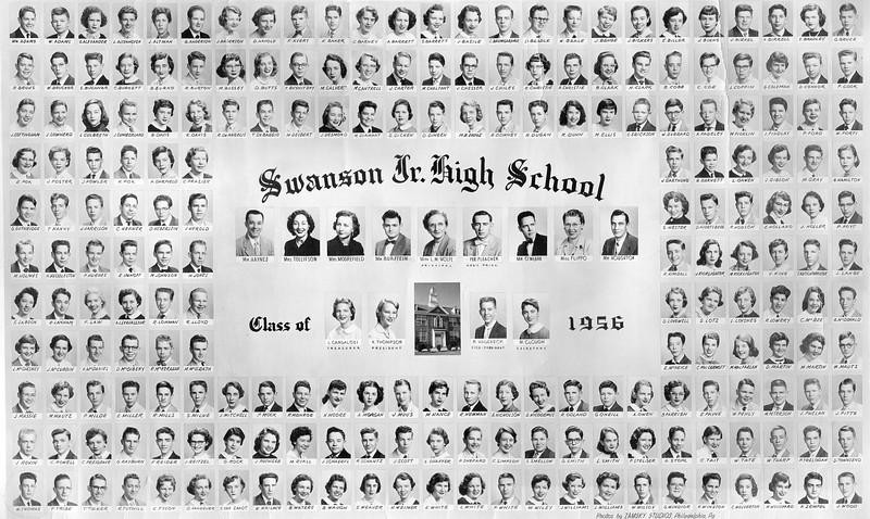 044 1956 Class Pic Swanson Jr High