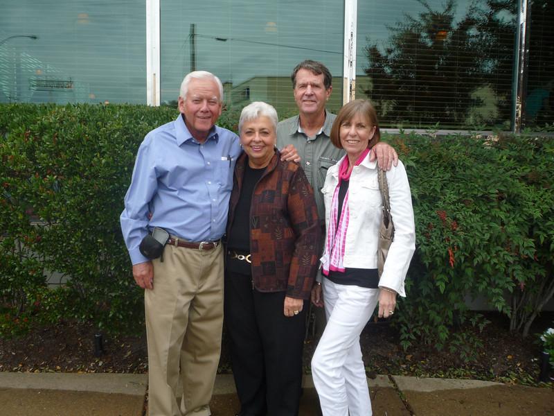Dallas and Margie Sunda Bradford and Weldon and Nancy Duques Eddins