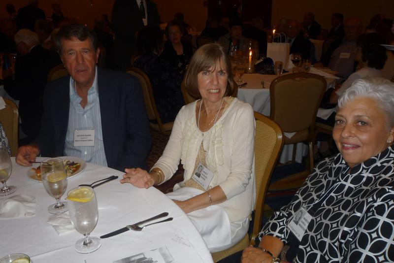 Weldon Eddins, Nancy Duques Eddins and Margie