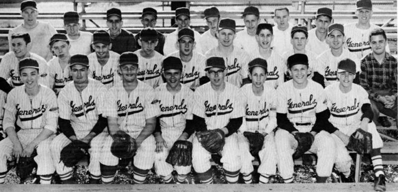 136 1956-57 JV Baseball