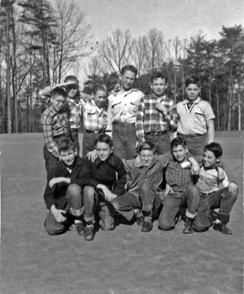 027 1954 Some 7th Grade Boys (Stratford)