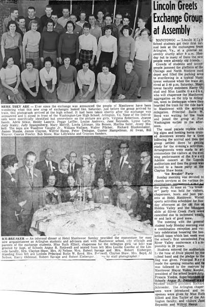 137 1958 Manitowoc Exchange
