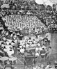 124 1957-58 Assembly in the Gym