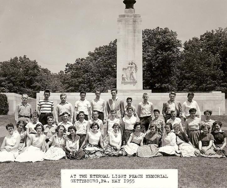 078 1955-05 Gettysburg trip (WJHS)