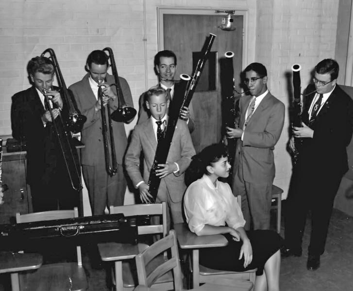 157 1958 Bassoons & Trombones