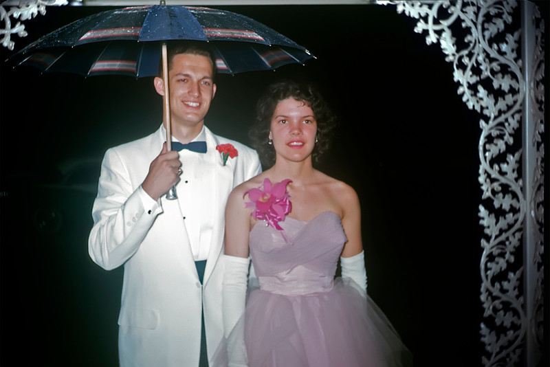 189 1959-06 Prom Phil Fansler Martha Thomas