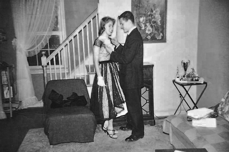 186 1959-06 Prom Nancy Duques Wayne Mullin