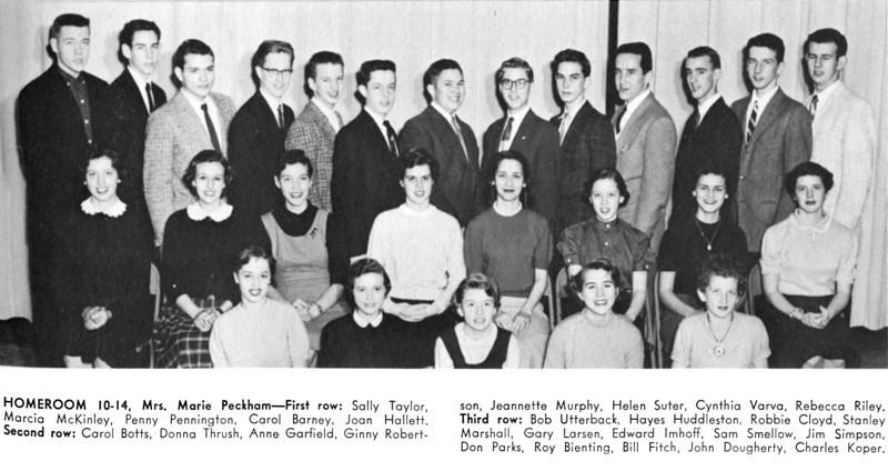 093 1956 W-L Homeroom 10-14