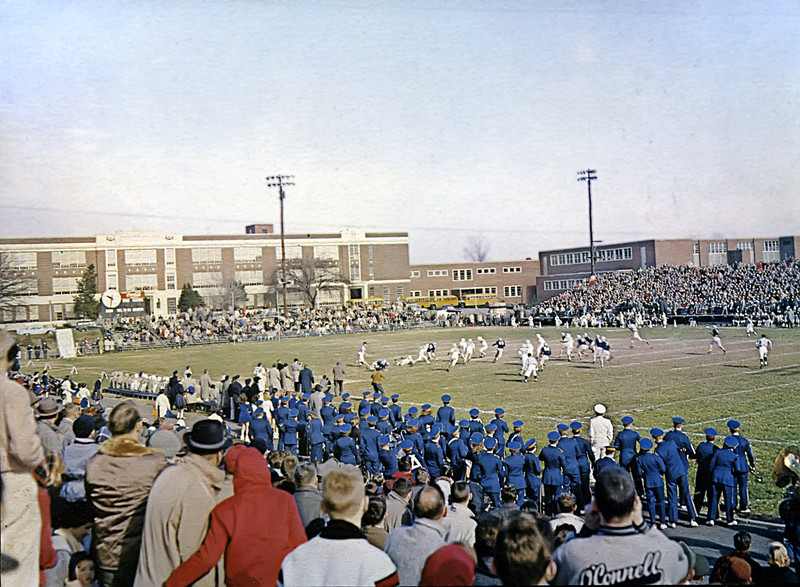 148 1958-10 W-L Yearbook Football Game
