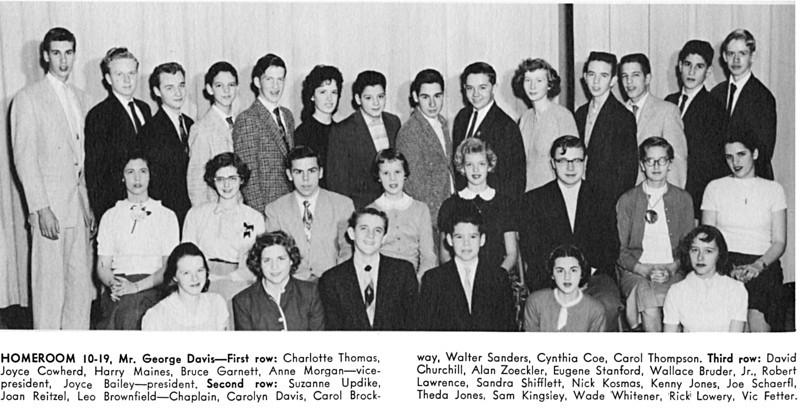 098 1956 W-L Homeroom 10-19