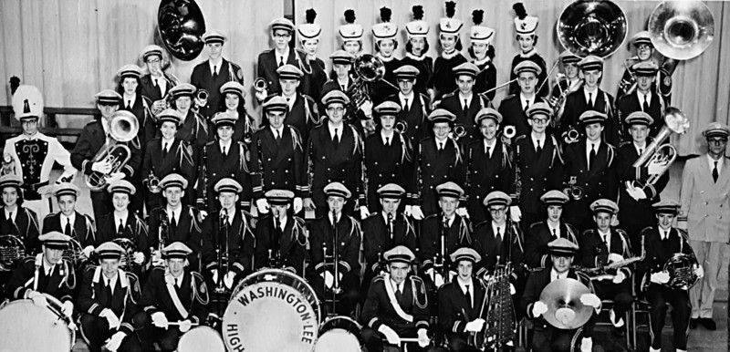 114 1956-57 Marching Band