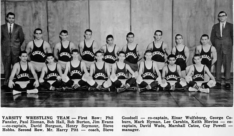 167 1959 W-L Varsity Wrestling