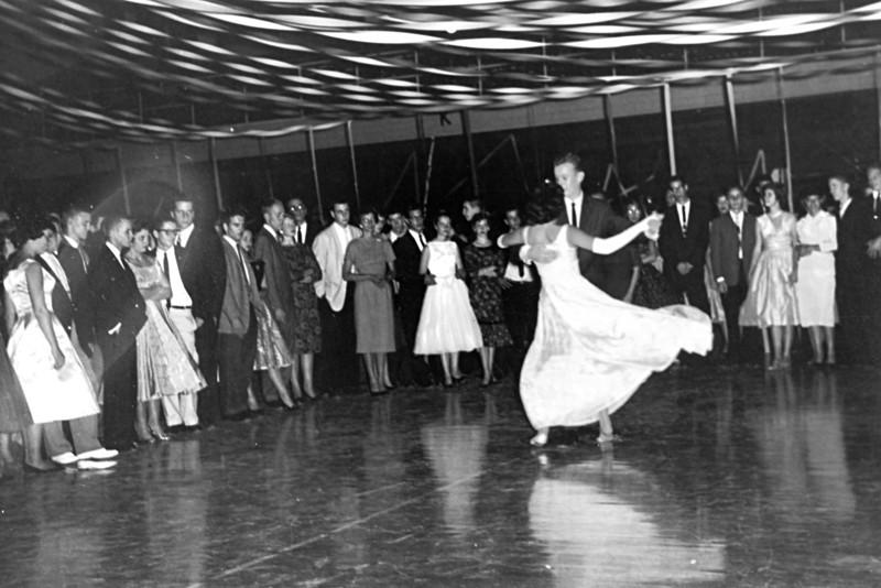 173 1959 Senior Dance Harvey Barnett Barb Ambrose