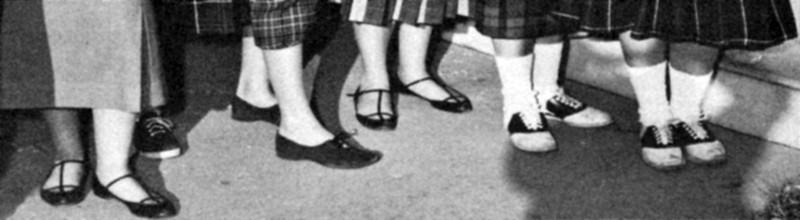 121 1957 Girls Shoes