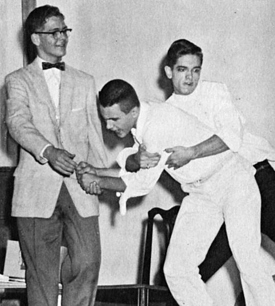 126 1957 Ned Hogan Tom Hayden on Harvey
