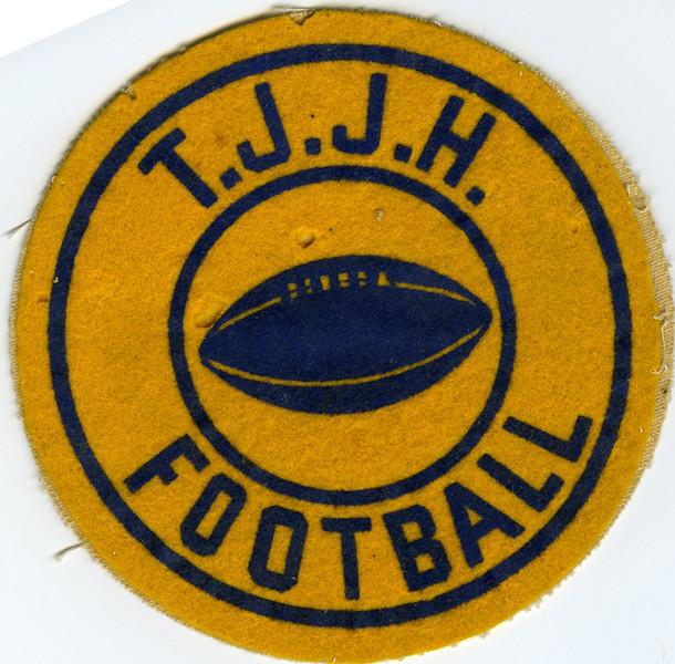 1955 TJ JHS Footbal Patch