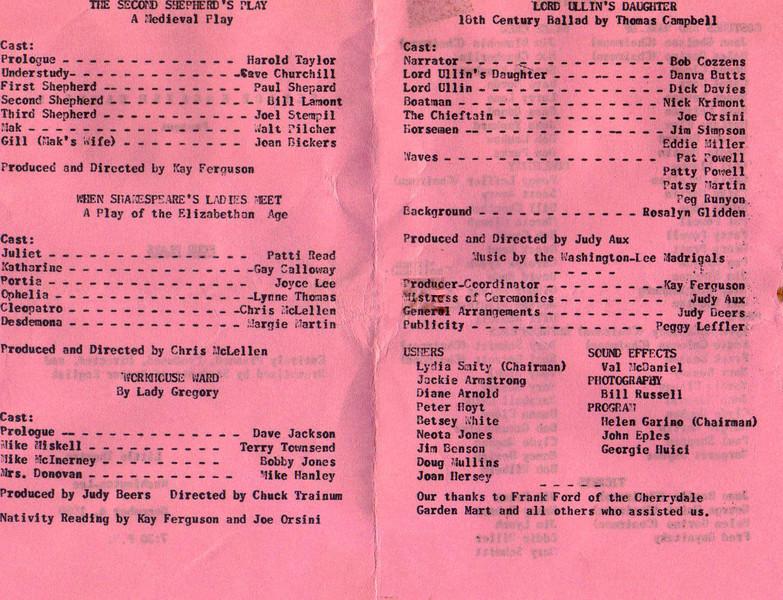 161 1958 Four Plays B