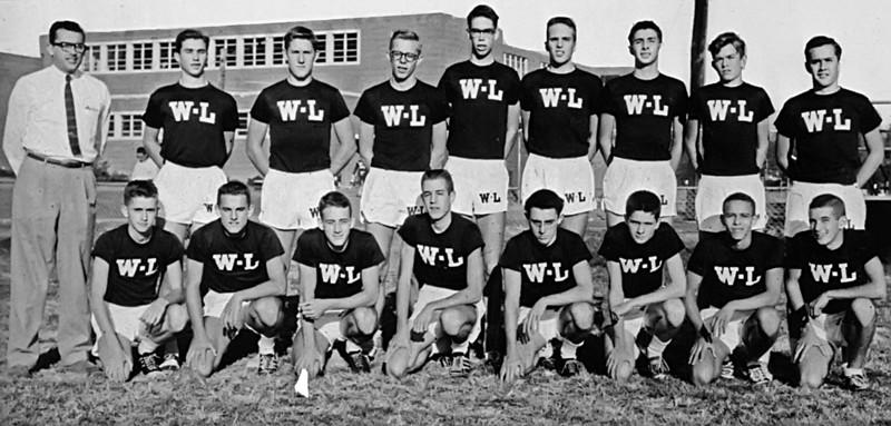 152 1958 Cross Country Team