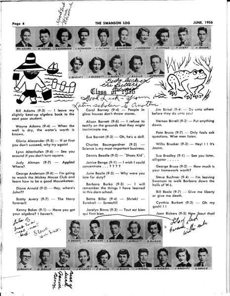 062 June 1956 Swanson Log P4