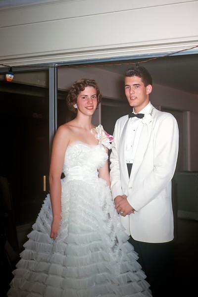 188 1959-06 Prom Judy Wearne Ben Rucker