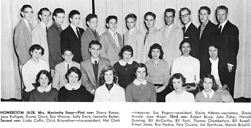 107 1956 W-L Homeroom 10-28