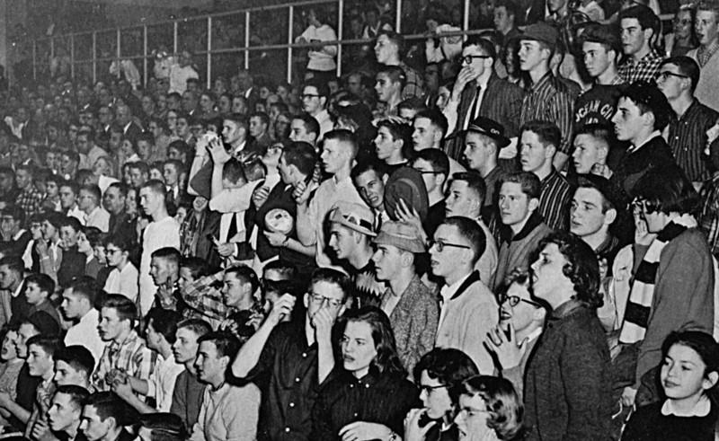 131 1957-58 Basketball Crowd