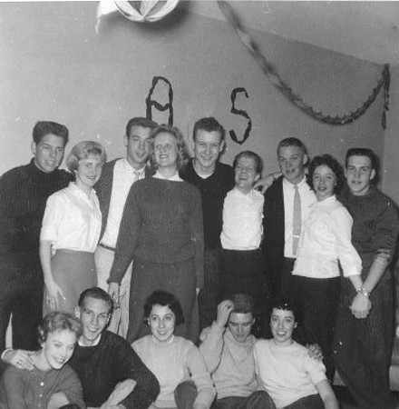 159 1958 Madrigal Party
