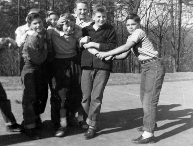 040 1954 Boys & Girls at Play