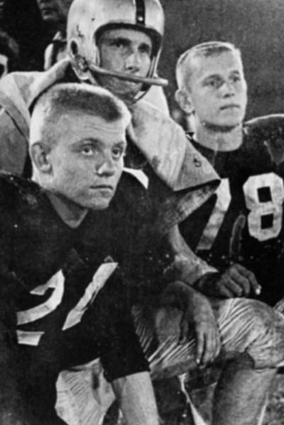 147 1957-58 Bob Keys Bill Henry Lee Havener