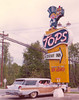 119 Tops sign