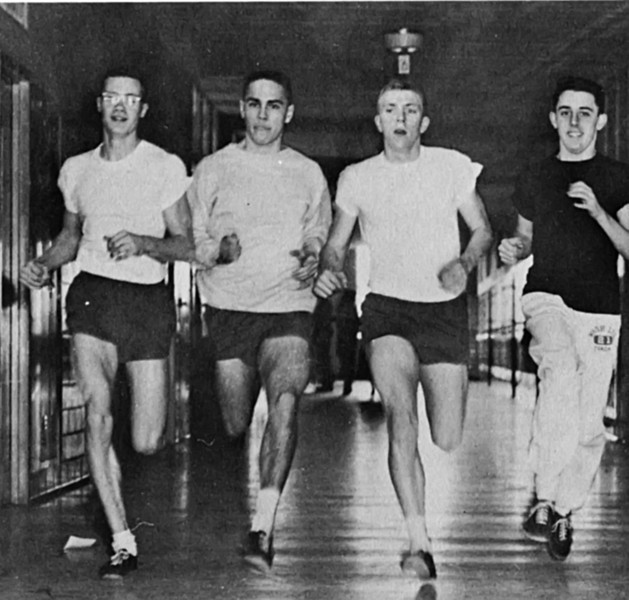 133 1957-58 Jim Massie Henry Colavita Inddor Track