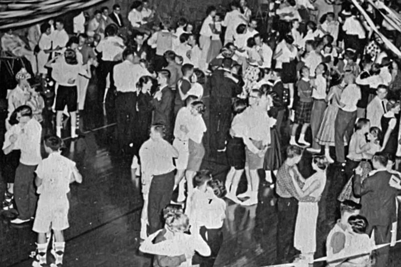 123 1956-57 Sock Hop