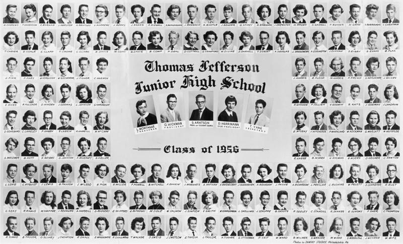 1956 T J Jr High