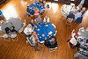 Linda Culbreth Johnson & George Johnson, Jim Blamphin, Mickie & Michael Diamant & Dick Day at the Center Table