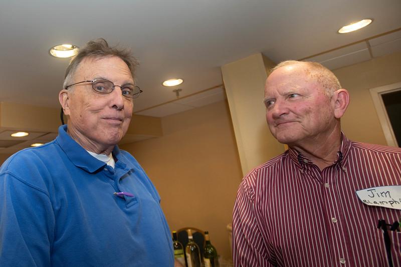Crew Buddies, Jim Lynch and Jim Blamphin