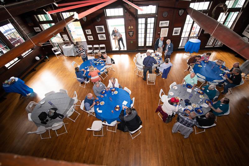 The PBC Ballroom Becomes the Dining Room