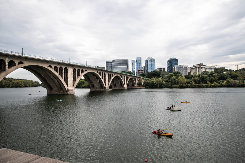 The Old Bridge & the New Rosslyn