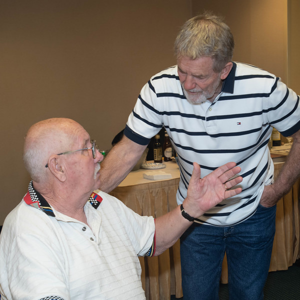 Bobby Hancher Talks With Don Keyes