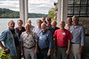 Crew Team Reunion:<br /> Front Row: Hank Keese, Monk Maghan (W-L '57), John Courtwright (W-L '57), Mike Reynolds<br /> Back Row: Paolo Calvacanti, Frank Benson, Clyde Maghan, Jim Lynch, Mark Childers. Bob Lanham, Jim Blamphin, Tony Johnson (W-L '58)